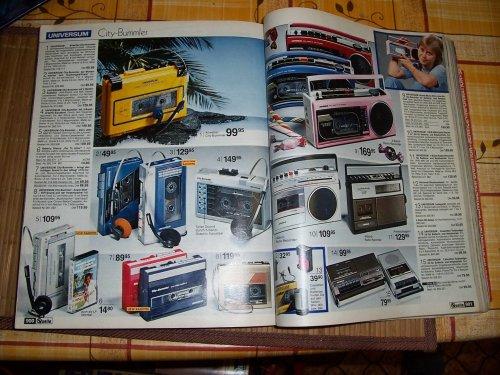 1985 Quelle - műszaki és óra