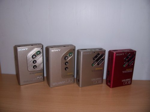 Sony walkmanok
