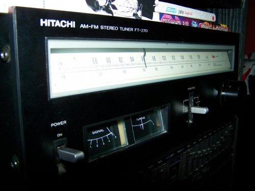 Hitachi FT-270 Tuner