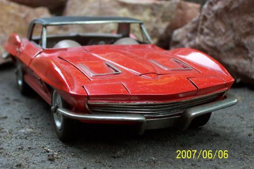 Autó modellek 1890-1970 között (  Chevrolet Corvette Convertible 1963 )