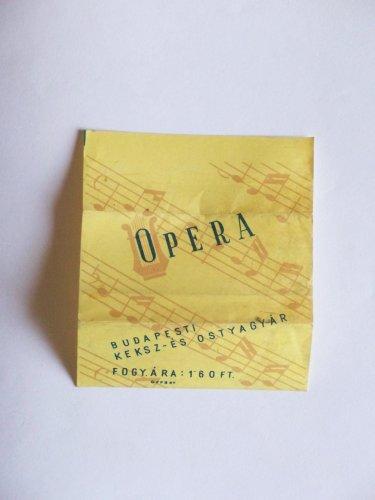 Opera csokoládé szelet