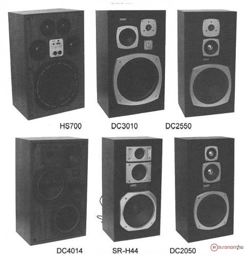 Hat magyar hangsugárzó