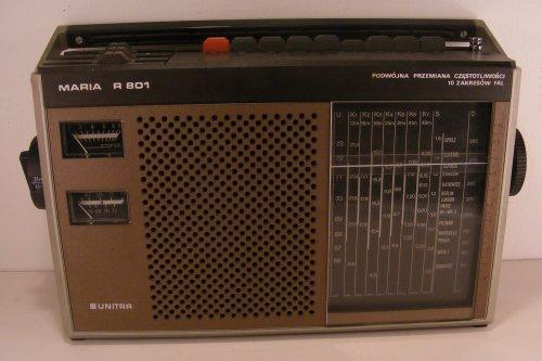 Unitra Maria rádió - R 801