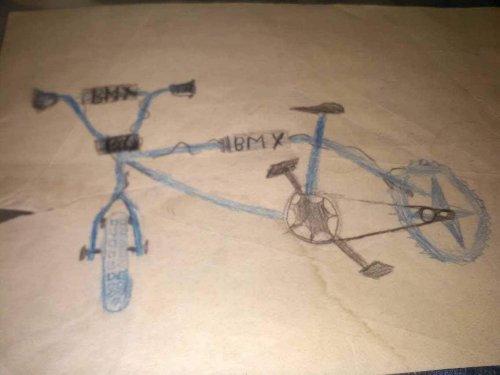 BMX gyerek rajz
