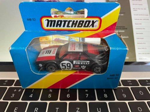 Matchbox Superfast BMW M1 Race Car