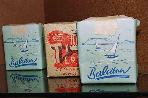 Balaton cigaretta és Terv