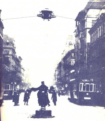 Az első közlekedési lámpa