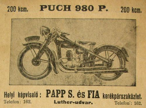 Puch motorkerékpár