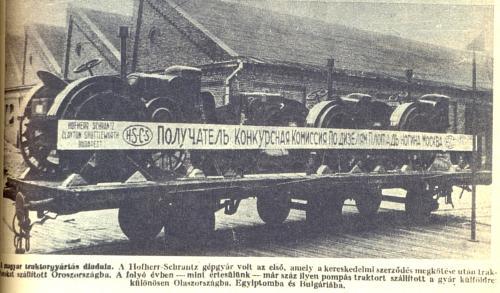 Hofherr traktorok