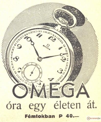 Omega zsebóra