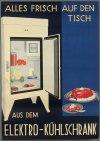 Német hűtőszekrény plakát