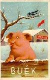 Boldog új évet  - Buék képeslap