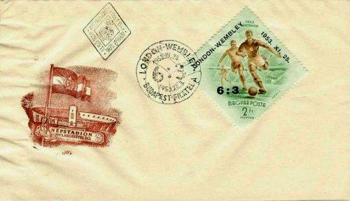 Angol-Magyar boriték bélyeg