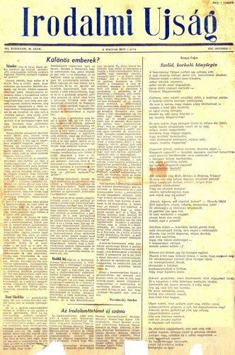 1956-os újságcikk - Novobáczky: Különös emberek?