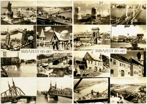 Budapest képeslapok