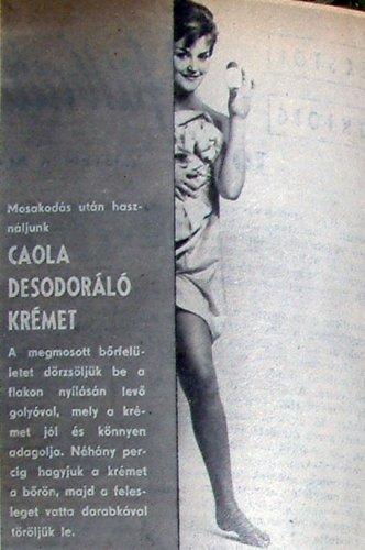 Caola desodoráló krém