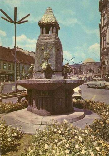 Pécs Zsolnay kút
