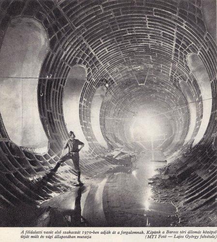 Metró alagút építése