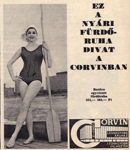 Corvin nyári fürdőruha divat