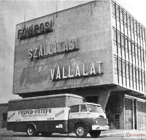 Fővárosi Szállítási Vállalat Csepel teherautó