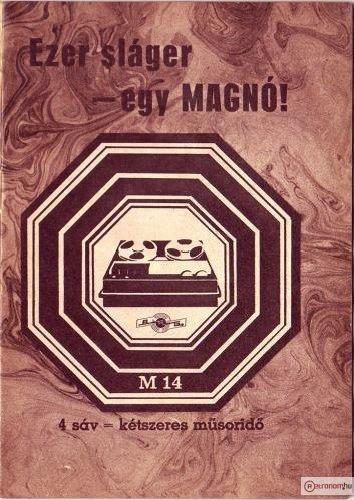 BRG M-14  szalagos magnó
