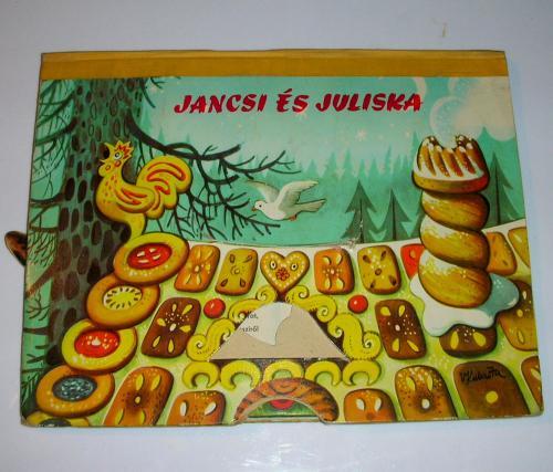 Jancsi és Juliska mesekönyv