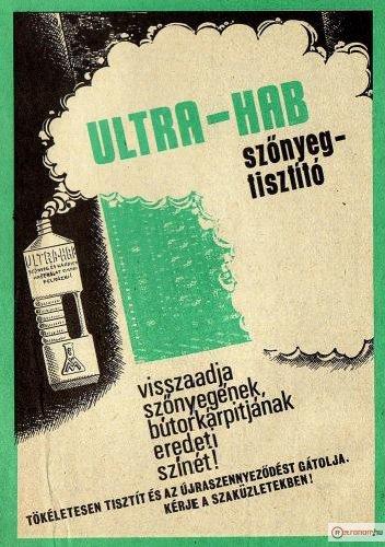 Ultra-Hab szőnyegtisztító