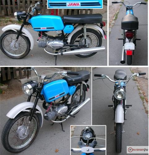 Jawa Mustang motorkerékpár