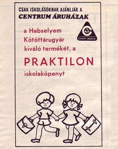 Centrum Praktilon iskolaköpeny