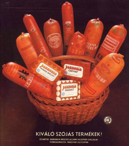 Pannonia termékek