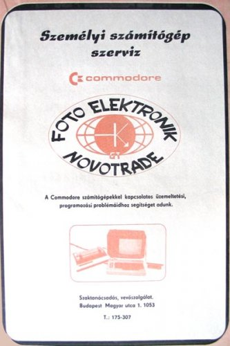 Commodore szervíz