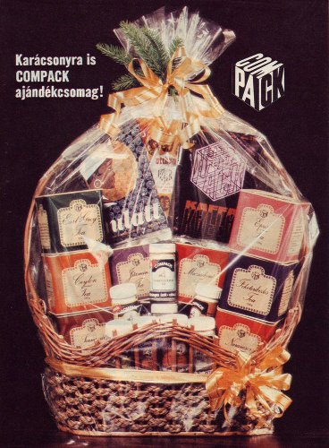 Compack ajándékcsomag karácsonyra