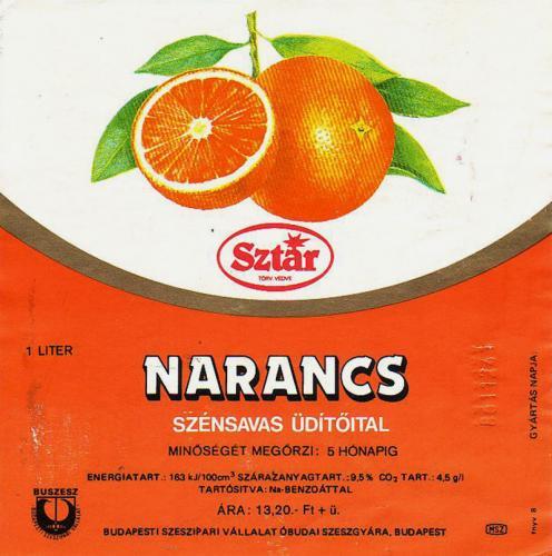 Sztár narancs üditő