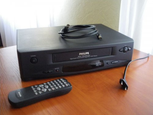 Philips  VR 101 Videó