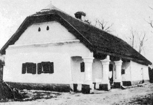 Hajdúnánás - tornácos ház
