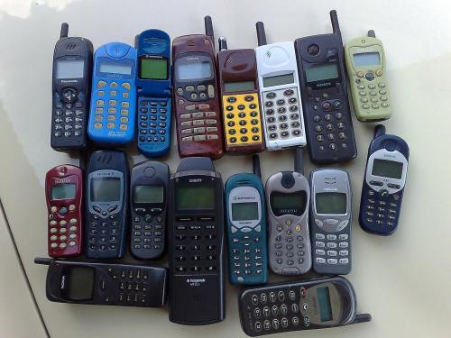 mobiltelefon csodák 1994-2000között!