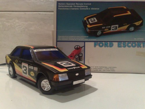 Ford Escort távítányítós autó