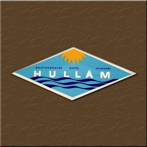 Balatonboglár Hotel Hullám  bőröndcímke