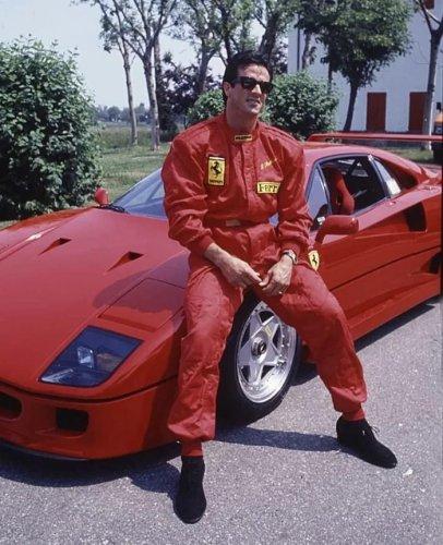 Sylvester Stallone - Ferrari F40