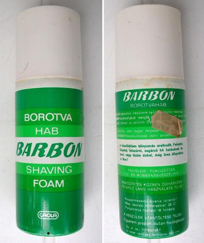 Barbon borotvahab
