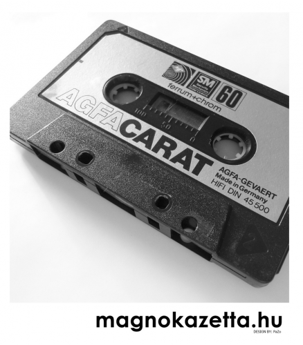 AGFA kazetta - Carat 60