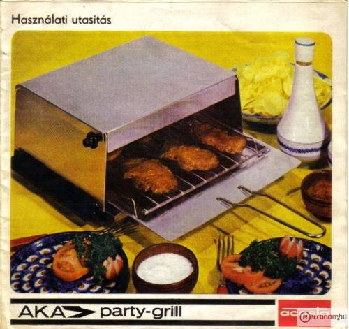 AKA Electric party-grill
