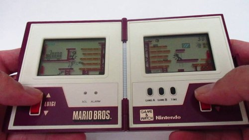 Mario Bros. Game & Watch Kvarcjáték MW-56