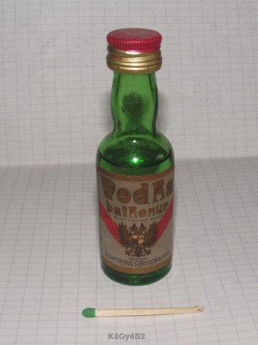 Bajkonur vodka miniüveg