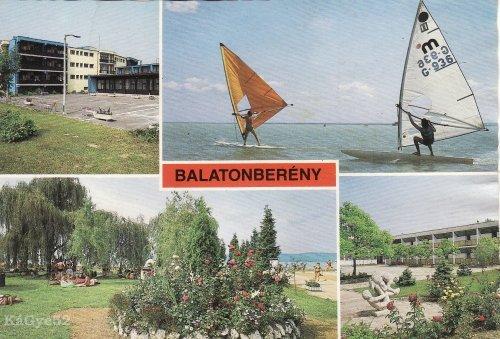 Balatonberényi képeslap