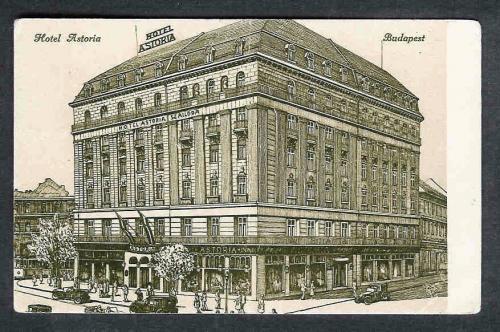Hotel Astoria   BUDAPEST