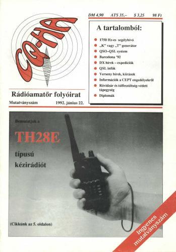 CQ-HA rádióamatőr folyóirat