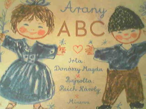 Arany ABC mesekönyv