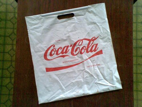 Coca-Cola reklámzacskó
