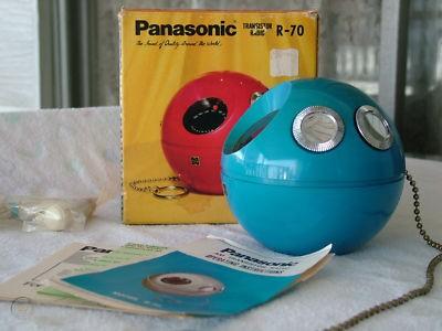 Panasonic Panapet R-70 rádió